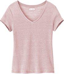 linnen shirt, mauve 46