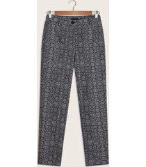 pantalón animal print gris 6