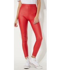 leggings in similpelle