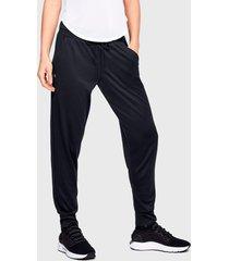 pantalón de buzo under armour tech pant 2.0 negro - calce regular