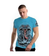 camiseta stompy new collection king cobra masculina