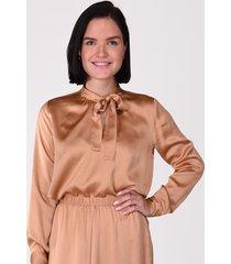 forte_forte blouse 7553 cognac