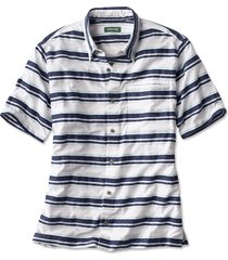 horizontal stripe short-sleeved shirt, xx large