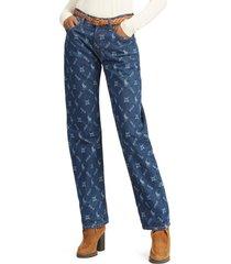 jeans neale loose boyfriend azul polo ralph lauren