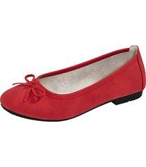 ballerinaskor liva loop röd