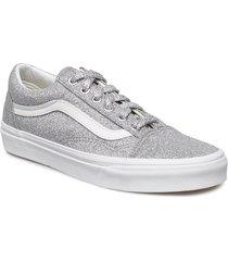 ua old skool låga sneakers silver vans