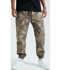 utilidad de impresión de camuflaje estilo hip hop para hombres koyye pantalones