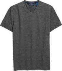 joe joseph abboud charcoal gray v-neck t-shirt