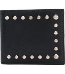 dsquared2 stud-trim wallet - black