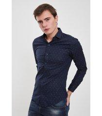 camisa azul el genovés módena