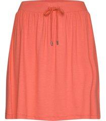 skirts knitted kort kjol röd esprit casual