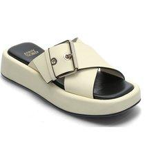 detox shoes summer shoes flat sandals creme anny nord
