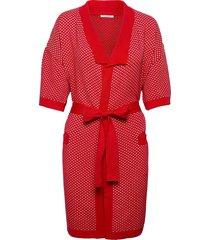 tammy kimono morgonrock röd underprotection