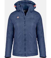 chaqueta naluns w outdoor azul marino izas outdoor