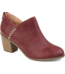 journee collection women's comfort manda bootie women's shoes