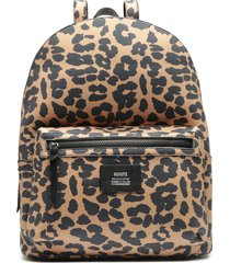 neoprene backpack - o/s leopard neoprene