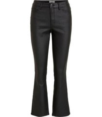 jeans objbelle coated flared jeans pb8