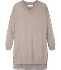 adyson parker women's v neck soft tunic sweater