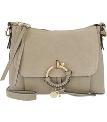 see by chloé designer handbags, grey joan bag