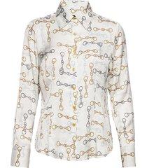 3357 - lotte overhemd met lange mouwen crème sand