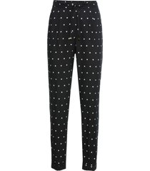 pantaloni loose fit (nero) - bodyflirt