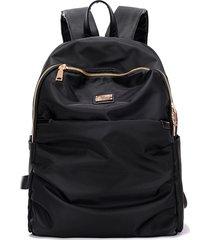 women waterproof nylon backpack lady womens backpacks female casual travel bag s