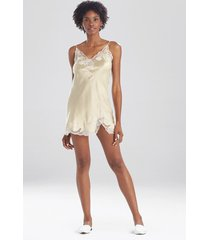 lolita lace chemise sleepwear pajamas & loungewear, women's, 100% silk, size s, josie natori