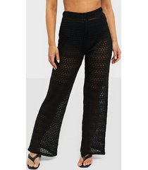 nly trend breathtaking wide pants byxor