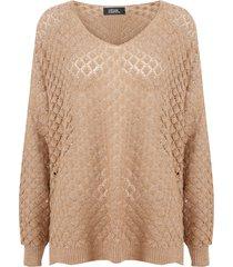 sweater nrg beige - calce holgado