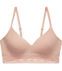 natori bliss perfection contour soft cup wireless bra, women's, size 30c