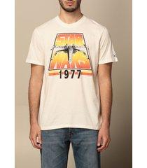 mc2 saint barth t-shirt mc2 saint barth cotton t-shirt with print