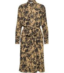 3430 h - hedvig dresses everyday dresses gul sand