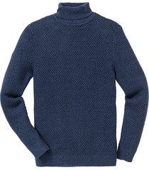 pullover dolcevita regular fit (blu) - bpc selection