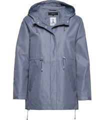 raglan jacket regnkläder blå makia