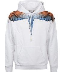 marcelo burlon sweatshirt hoodie wings regular