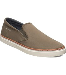 prepville slip-on shoes sneakers grön gant