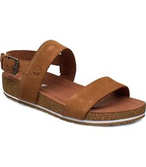 malibu waves 2 band sandal shoes summer shoes flat sandals brun timberland