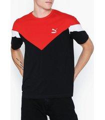 puma iconic mcs tee t-shirts & linnen black