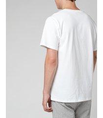 a.p.c. men's raymond t-shirt - white - m