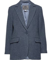 ollie blazer colbert blauw brixtol textiles