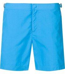 orlebar brown straight-leg swim shorts - blue