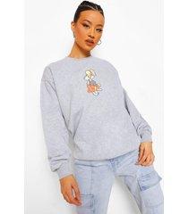 lola bunny looney tunes sweater, charcoal