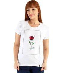 camiseta ouroboros flower feminino - feminino