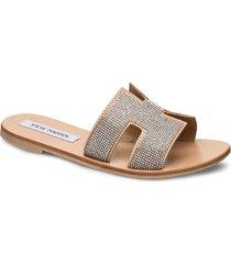 grayson slide shoes summer shoes flat sandals beige steve madden