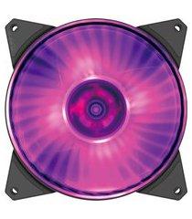 cooler fan para gabinete cooler master r4140r 15pcr2 preto e roxo