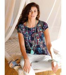 shirt amy vermont marine::petrol::fuchsia