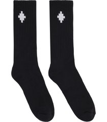 marcelo burlon cotton-blend mid-calf socks