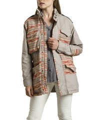 chaqueta africa beige rockford