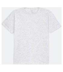 camiseta básica | blue steel | branco | eg i