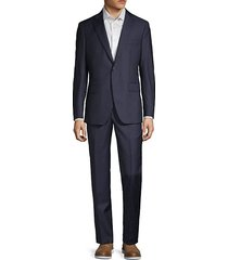 2-piece modern fit pinstripe suit